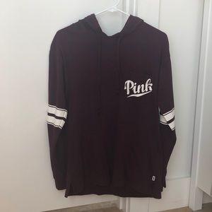 PINK long sleeve shirt/hoodie